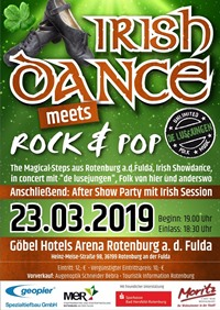 Flyer Irish Dance Goebels Arena Rotenburg